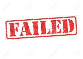 「failed」の画像検索結果