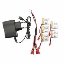 Radio Control & Control Line <b>5PCS 3.7V</b> 380mah <b>Lithium</b> Battery ...