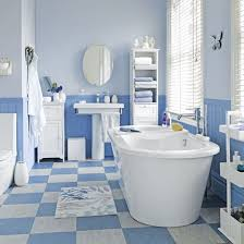 blue bathroom tile ideas: blue bathroom floor tile ideas bathroom