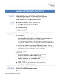 example of a work resume warehouse job resume skills warehouse job warehouse worker resume samples template tips warehouse job resume cover letter warehouse associate resume cover letter