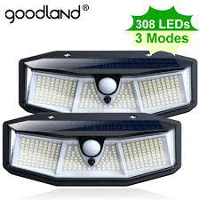 <b>Goodland 100 LED</b> Solar Light Outdoor Solar Lamp Powered ...