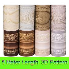 5 Meter/Lot Europe Style Multicolor <b>3D Creative Bathroom</b> Stickers ...