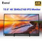 "<b>Eyoyo 15.6</b>"" <b>Inch</b> 4K IPS HDMI <b>Monitor</b> 178 Degree USB-C <b>Screen</b> ..."