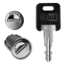 Thule <b>One</b>-Key Lock Cylinders (<b>1 pair</b>) - Riverside <b>Cycle</b>