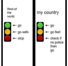 Traffic Signal interpretations | Funny Pictures, Quotes, Memes ...