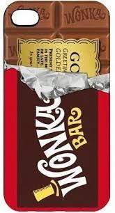 Willy Wonka Golden Ticket Chocolate Bar case pour Samsung ...