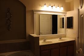 image of beautiful bathroom lighting above mirror bathroom lighting