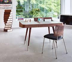 retro office desks. walnut modern retro desk from denmark office desks