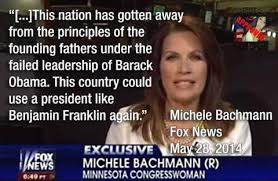 Did Michele Bachmann say 'this country could use a president like ... via Relatably.com