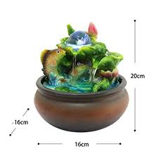 <b>Resin</b> Water Fountains Indoor <b>Decoration</b> Creative <b>Craft</b> Home ...