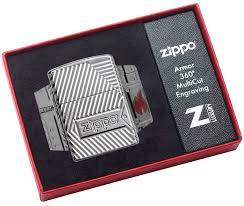 29672 <b>Зажигалка</b> Zippo <b>Armor Bolts</b> Design, Polish Chrome