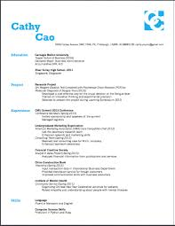 how a resume should look student resume template screen shot 2013 03 23 at 7 35 51 pm