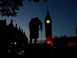 a newly unearthed essay reveals that winston churchill suspected statue of churchill old man walking london