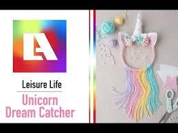 DIY <b>Dreamcatcher</b> - <b>Unicorn</b> Fun! - YouTube