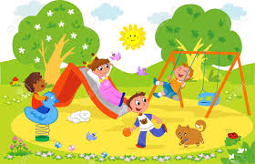 Image result for park  cartoon