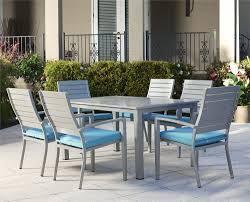 blue piece patio
