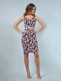 <b>Платье</b> черно-розового цвета в принт - <b>Rebecca Tatti</b> - 2201038 ...