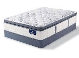 Queen Serta Perfect Sleeper Elite Rushcroft II Super <b>Pillow Top</b> 14 ...