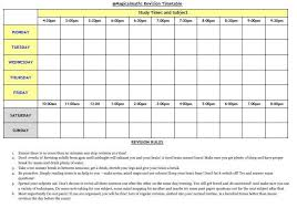 Ukcat revision plan for essay revision timetable tumblr   Google Search