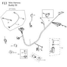 13f electrical for 50cc 2 stroke genuine buddy on lance cdi ignition wiring diagram
