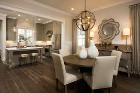 dining room khaki tone: transitional dining room view full size