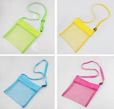 <b>1pc Multi color</b> Beach Bag Children's Beach Classic Toys <b>Storage</b> ...