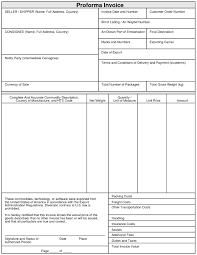 export proforma invoice format invoice template ideas proforma invoice format for export in excel proforma invoice export proforma invoice format