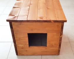 cat litter box cover cat house cat litter box cabinet made of recycled spruce wood and stained cat litter box cabinet