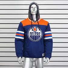 Купить толстовку худи Edmonton <b>Oilers</b> c капюшоном
