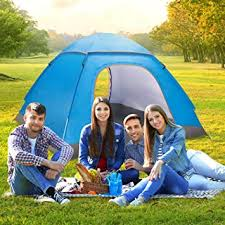 Buy Jumix 6 <b>Person</b> Camping Tent with Carry Bag, Lightweight ...