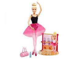 <b>Кукла</b> Mattel <b>Barbie Инструктор балета</b> DXC93