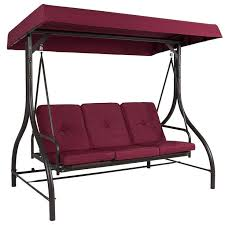 porch swing separate covered seats outdoor