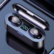 W16 <b>TWS</b> Bluetooth Earbuds Headphone with LED - meatchell.ru
