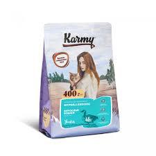 <b>KARMY Hypoallergenic сухой корм</b> для взрослых кошек склонных ...