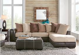 gregory beige 3 pc sectional living room from furniture beige sectional living room