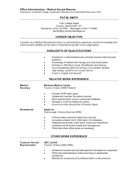 veterinary receptionist resume templates  legal receptionist    file info responsibilities summary medical receptionist resume sample medical administrative assistant resume objective resume objective for