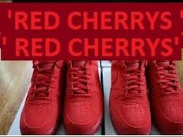 air force 1 nike red cherry how to lace on feetz review cherry air force 1