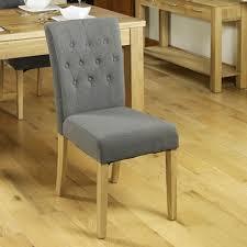 baumhaus mobel oak flare back upholstered dining chair baumhaus mobel oak upholstered dining chair