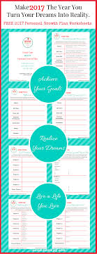 personal growth plan goal setting worksheets achieve this personal growth plan printable designed for busy moms will show you how to make 2017 the year you achieve your goals