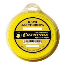 <b>Леска триммерная Champion</b> C5025 Star 2.4мм/12м — купить в ...