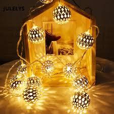 Fairy 10M Garland <b>Morocco Ball</b> LED <b>String Lights</b> Battery ...