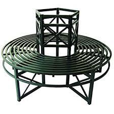 DanDiBo <b>Round bench</b> made of metal <b>Bench</b> 120749 <b>Tree bench</b> ...