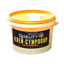 <b>Клей</b> для деко-панелей Стиропор <b>Quality</b>, 4 кг - купите по низкой ...