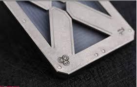 <b>2018 New EDC Pure</b> Titanium Alloy Clip Wallet Multifunction Card ...