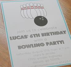 bowling birthday party invitation party printables jolly mom