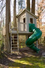 Tree houses  Trees and House on Pinteresttree house for kids   pipe slide   Doctor Architecture   Doctor    would