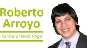 Roberto Arroyo - Personal Web Page - logo