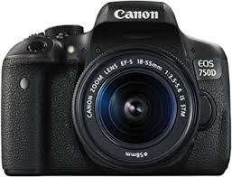 Canon EOS 750D Digital SLR Camera with 18-55mm ... - Amazon.com