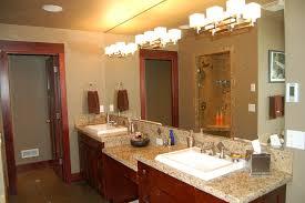 bathroom lighting ideas polished chorme faucet