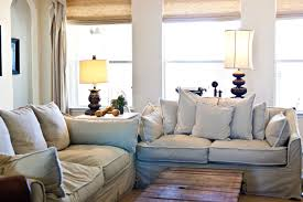 french country style living rooms striped